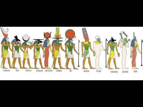 Egyptian Gods Vs Biblical God Worship