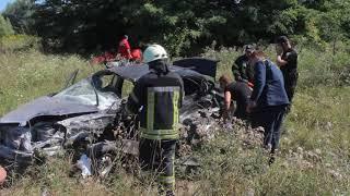 Рятувальники деблокували постраждалих внаслідок ДТП