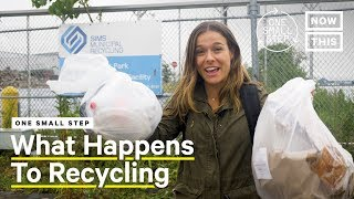 Here's What Happens To Your Recycling | One Small Step | NowThis