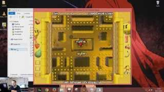 game time - MS.PAC-MAN quest for the golden maze