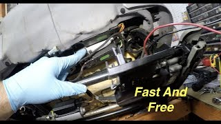 The EASY Way To Fix BMW M5 E38 E39 E34 Twisted Seat Back And Seat Bottom