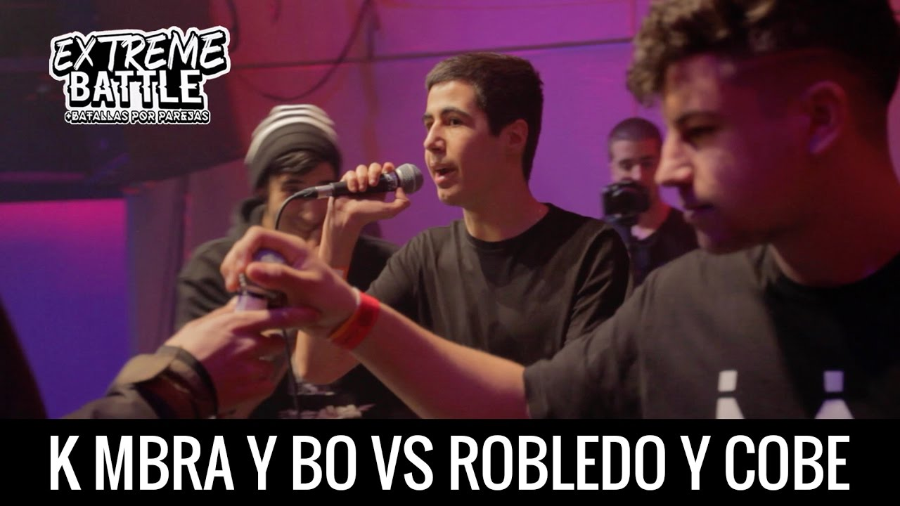 K MBRA Y BO vs COBE Y ROBLEDO / EXTREME BATTLE Madrid 2017