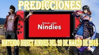 PREDICCIONES PARA EL NINTENDO DIRECT NINDIES DEL 20 DE MARZO DE 2018