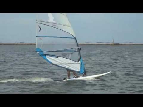 Windsurfing Jakarta with Severne 10 sqm and Lorch Division A