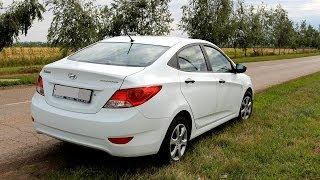Hyundai Solaris 1.6 AT 10 замер эластичности, разгон с хода 80 120, 60 100, 30 70
