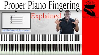 Ultimate Piano Fingering Guide | DEMONSTRATED AND EXPLAINED