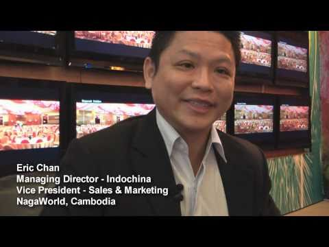 NagaWorld Cambodia Interview with Eric Chan - HD