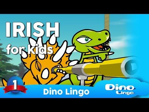 Irish for kids (Gaelic - Gaeilge) Irish learning DVD set fo children - Ireland