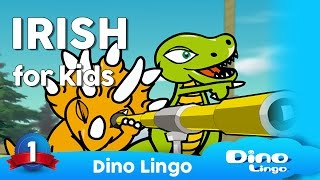 Learn  Irish for kids - Animals - Online  Irish lessons for kids - Dinolingo