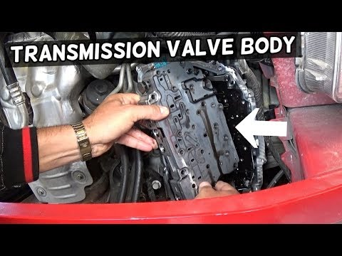 TRANSMISSION VALVE BODY REPLACEMENT REMOVAL 6T30 6T35 6T40 6T45 6T50 CHEVROLET GMC