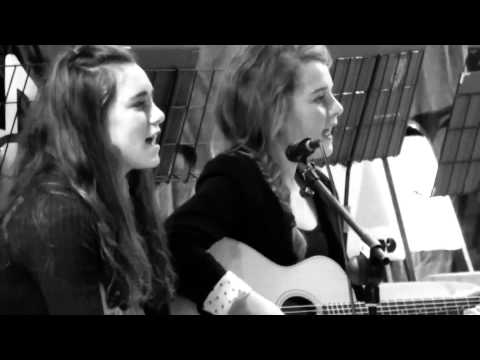 Ho Hey - Lumineers cover by Emma TW and Poppy W aged 13