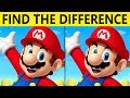 Only TRUE GENIUS can FIND THE DIFFERENCE! | 100% FAIL | MARIO PICTURE PUZZLE