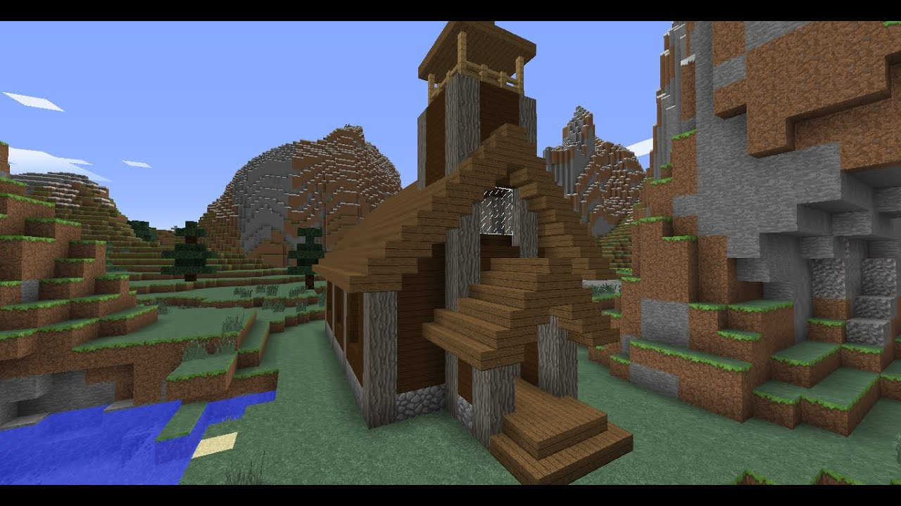 How To Build A Medieval Church In Minecraft