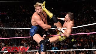Jack Swagger vs. Tyson Kidd: Raw, Oct. 6, 2014
