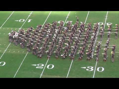 Fightin' Texas Aggie Band Halftime Drill - 2017 Belk Bowl - 12/29/17