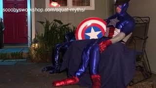 Captain America - Never Skip Leg Day