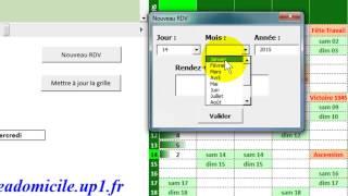 Excel-VBA: Organizer 1/2