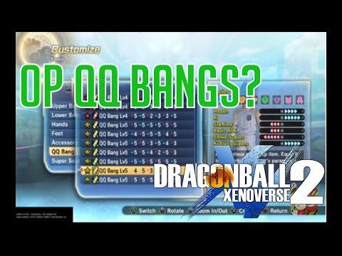 [HOW TO MAKE LVL 5 QQ Bang] DRAGON BALL XENOVERSE 2