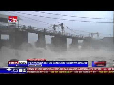 Jokowi Bingung Pondasi Bendung Katulampa Jebol Diterjang Banjir