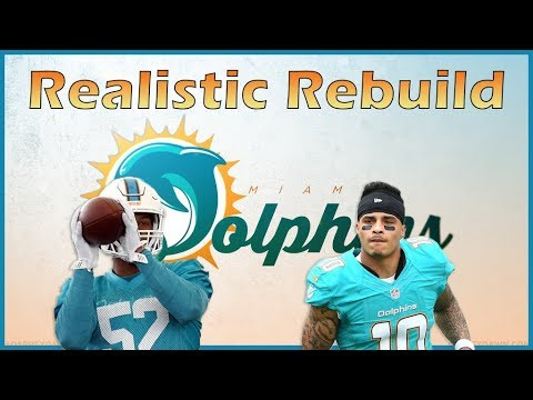 Madden 18 Realistic Rebuild   Miami Dolphins: Drafting an 86 Overall Superstar