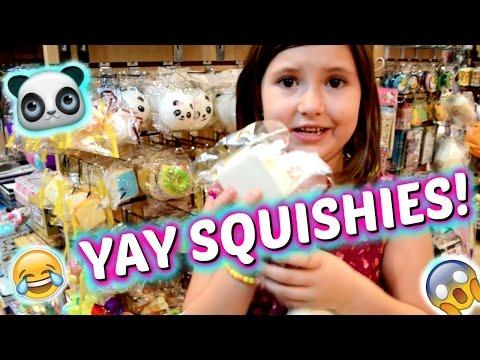 Abc Squishy Tag Questions : HAH!? 1 MALL ADA 4 TOKO SQUISHY? ( VLOG) ~Qaniya Tsabita Doovi