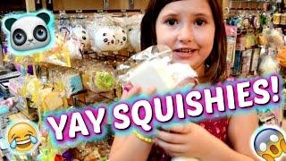 SQUISHY HAUL from Tokyo World!!! ~ Shopping Mall Vlog | Sedona Fun Kids TV