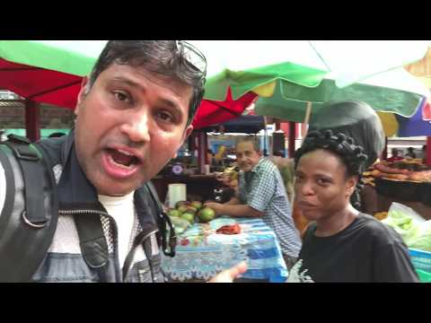 Central Market Victoria Mahe Seychelles