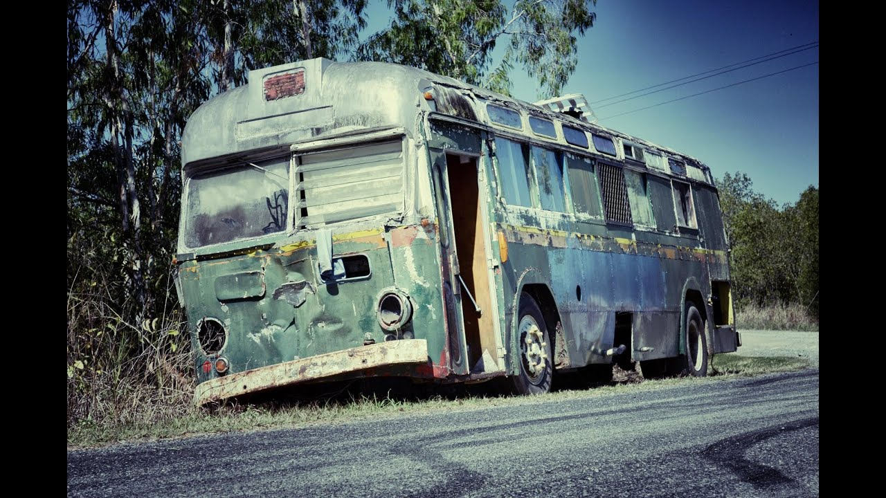 Hippie Buses Abandoned Hippie Bus Youtube