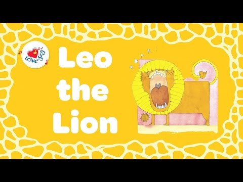 Roar! Leo the Lion and Terrance the Tiger  Animal Lyrics for Kids  Children Love to Sing