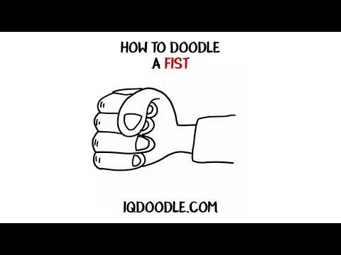 How to Draw a Fist (drawing tips)