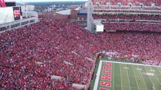 Huskers Tribute to Sam Foltz. The Formation.
