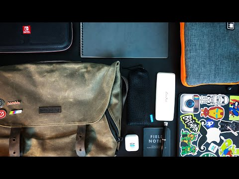 What's in my Bag: An iPad Pro User's Daily Carry Bag