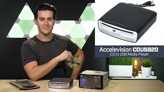 Accelevision CDUSB20 - CD to USB Player