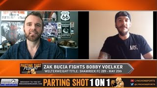 "Shamrock FC 289's Zak Bucia ""This fight with Bobby Voelker will end explosivity"""