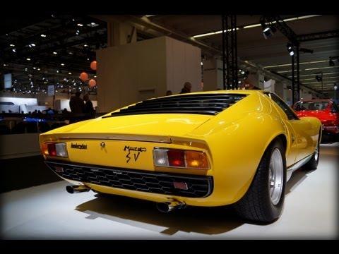 Yellow Lamborghini Miura Sv Techno Classica Essen Youtube