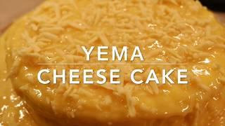 YEMA CHEESECAKE RECIPE | SOFT & FLUFFY COTTON CAKE