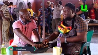 Oteele on ATUU with Abeiku Santana