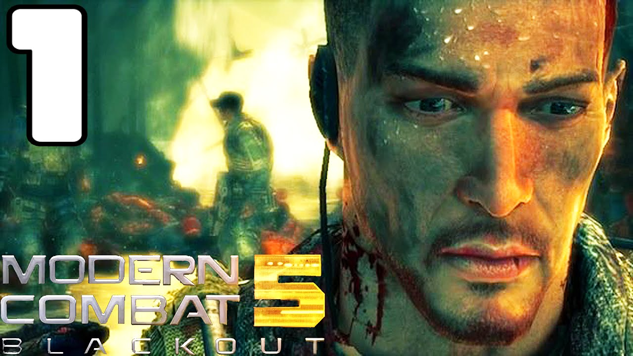Modern Combat 5 : Blackout ( O início ) - Parte 1 Gameplay Android