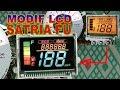 Modif LCD Satria Fu Warna Warni