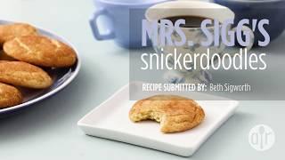 How to Make Mrs. Sigg's Snickerdoodles | Cookie Recipes | Allrecipes.com