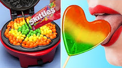 COOL FOOD HACKS AND FUNNY TRICKS 27 FOODS YOU CAN WAFFLE IRON