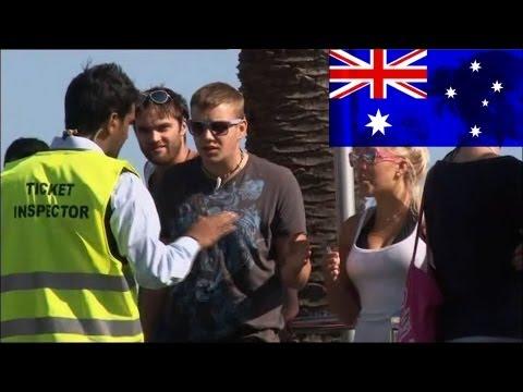 Very Foreign Correspondent Ticket Inspector - Balls of Steel Australia