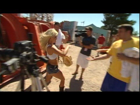 The Making Of The Dallas Mavericks 2008-2009 Calendar Part 3