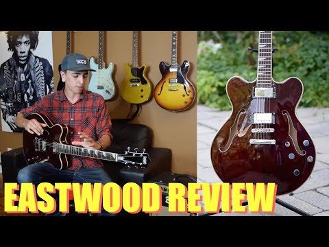 BEST Affordable Gibson Alternative - EASTWOOD Classic 6 HB Guitar Review