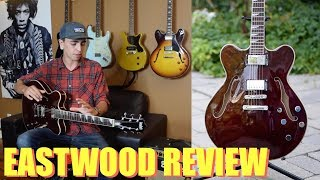 Gambar cover BEST Affordable Gibson Alternative - EASTWOOD Classic 6 HB Guitar Review