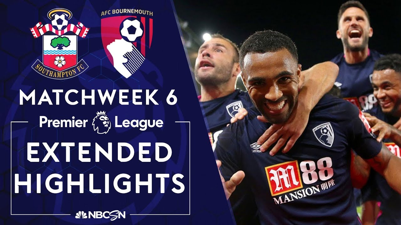 Southampton v. Bournemouth | PREMIER LEAGUE HIGHLIGHTS | 9/20/19 | NBC Sports