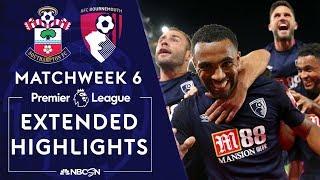 Southampton v. Bournemouth | PREMIER LEAGUE HIGHLIGHTS | 9/20/19 | NBC Sports