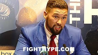 (WOW!) TONY BELLEW SHUTS UP DAVID HAYE WITH CHILLING REMINDER ABOUT TEXT MESSAGE