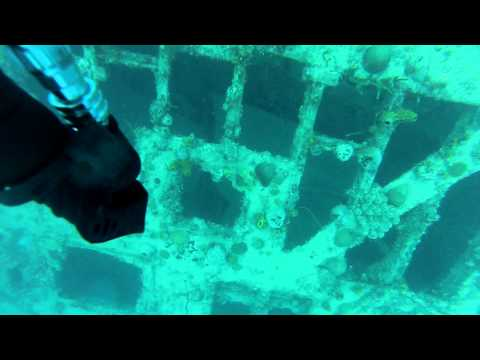 Wreck Diving the Catherine in Ocho Rios, Jamaica