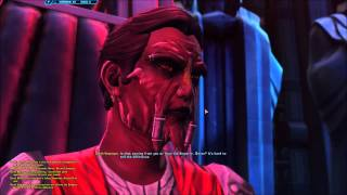 SWTOR Marka Ragnos vs Darth Baras, Sith Warrior Ending(Dark Side).